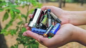 Resultado de imagen para deposito de pilas y baterias viejas
