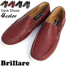 brillare ブリラーレ deck shoes high grade pu leather デッキシューズ deck shoes deck