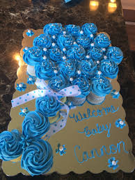 The 25 Best Baby Carriage Cake Ideas On Pinterest  Baby Buggy Pull Apart Baby Shower Cupcakes