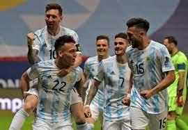 تفرض الأرجنتين مواجهة نارية مع البرازيل في نهائي كوبا أمريكا - الدستور نيوز  07/07/2021
