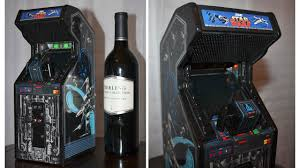 Star Wars Cabinet Wine Bottle Sized Star Wars Arcade Is A Better Way To Drown Your