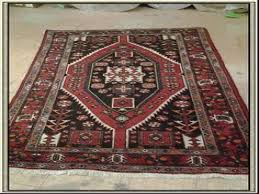 iran wool area rug hamadan colors red blue 4 x 6 for area rug 4x8