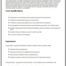 Cv Sample For Medical Students Myperfectcv Pertaining To Medical
