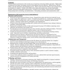 Sample Curriculum Vitae For High School Teacher Inspirationa Teacher ...
