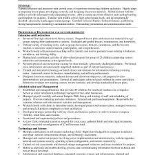 Sample Curriculum Vitae For High School Teacher Inspirationa Teacher ...