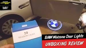3d Shadow Light Bmw Unboxing Cool Gadgets 2016 Bmw Door Welcome Logo Lights