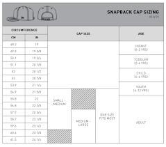 New Era Snapback Size Chart How Do I Know What Size To Buy New Era Cap