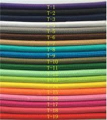 fabric lighting cord. 50m 100m 2075 copper cloth covered wire vintage style edison light lamp cord grip fabric lighting f