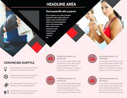 Training Flyer Templates Free Boxing Gym Brochure Template Free Dog Training Flyer Word