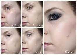 anwendung auf der make up atelier paris