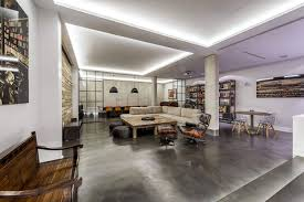 View in gallery Modern industrial home in Madrid with a neutral color  palette