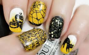 Halloween Nails (Konad Stamping) - YouTube