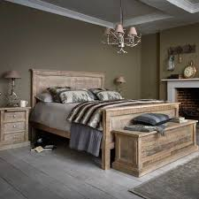 The Austen Bed Frame is made from reclaimed wood with a classic ...