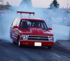 1994 Chevrolet S10 Blazer 1/4 mile Drag Racing timeslip specs 0-60 ...