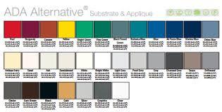 Rowmark Ada Alternative Color Chart 2009 Color Chart