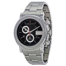 men cool mens gucci watches the watch gallery men cheap drop dead gorgeous gucci watch men s g chrono collection black stainless steel watches cheap gcya medium