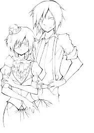 black butler coloring pages anime colouring black butler coloring pages anime colouring