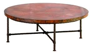 copper coffee table copper top coffee table uk antique round copper coffee table