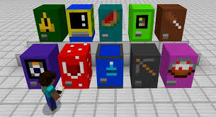 How To Make Vending Machine In Minecraft Pe Stunning MineMachine Addon Minecraft PE