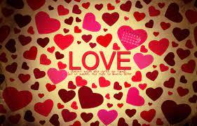 Wallpaper love, heart, Valentine's day ...