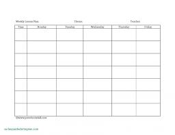 Daycare Organizational Chart 044 Microsoft Word Weekly Menu Template Ideas Lesson Plan