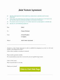 Joint Partnership Agreement Template Sample Joint Venture Agreement Fresh 24 International Joint Venture 21