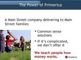 Primerica Presentation Primerica Presentation Primerica Business Plan 46728x546