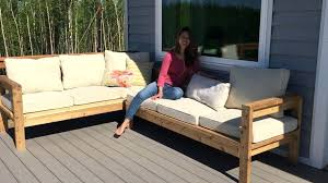 build patio furniture how to build a x outdoor sectional tutorial how to build patio furniture out