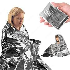 Rescue <b>emergent blanket</b> survive thermal tent mylar <b>lifesave</b> first aid ...