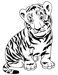 Small Picture New Tiger Coloring Pages Best Coloring Book Id 639 Unknown
