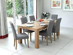 oak table and chairs dining room furniture lovely excellent ideas