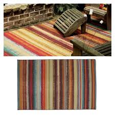 indoor outdoor area rug stripe striped 7 ft x10ft mohawk multi color rug 7 x 10 for