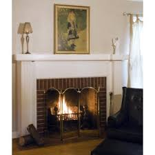 fireplace screens with doors. UniFlame 4 Panel Brass Filigree Fireplace Screen Screens With Doors