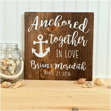 rustic wood wedding signs sensational wedding sign ancd in love nautical decor personalized gift 1000 pixels