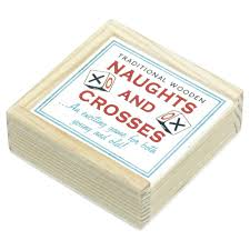 Wooden Naughts And Crosses Game Traditional Wooden Naughts Crosses Game from Mollie Fred UK 25