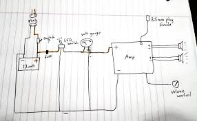 making an ammo box speaker wiring power etc help please before click the image to open in full size