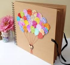 diy craft ideas for decorating your photo book s cover