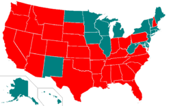 capital punishment   wikipediaa map showing the use of the death penalty in the united states by individual states  note that the death penalty is used throughout the united states for