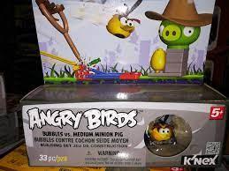 K'NEX Angry Birds Mini Figures Building Set KING PIG ANGRY BIRDS TOYS