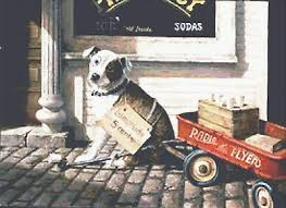 Chart Dog Graph Radio Flyer Counted Cross Stitch Pattern 219 Vintage