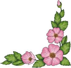 flower border clipart for free
