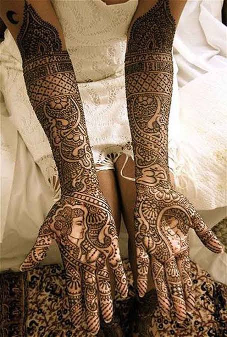 dulhan mehndi designs for full hands