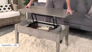 turner lift top coffee table gray review