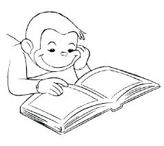Curious George Coloring Page Curious Coloring Pages Free To Print