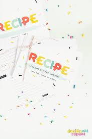 Recipe Cards Print Colorful Free Printable Recipe Cards Design Eat Repeat
