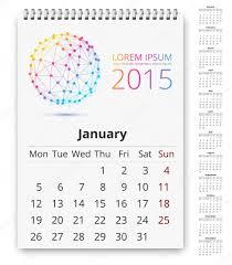 Calendario 2015 Español Para Imprimir A4 Plantilla De Calendario