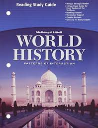 World History Textbook Patterns Of Interaction Amazing World History Patterns Of Interaction Reading Study Guide English