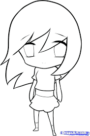 Coloring Pages Cute Anime Chibi Girl Coloring Pages Cool Princess