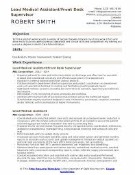 Medical Resume Lead Medical Assistant Resume Samples Qwikresume
