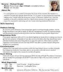 Example Of Good Resumes